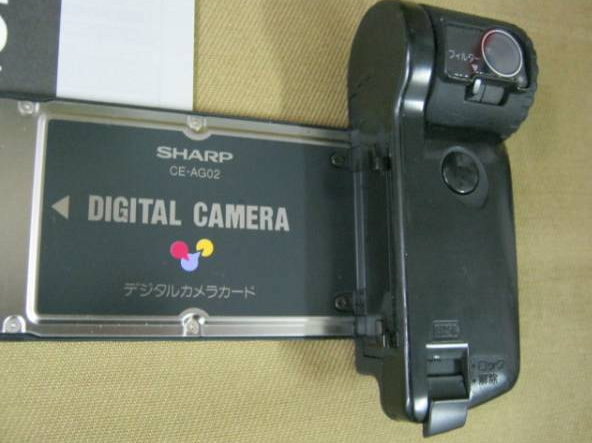Sharp PDA digital Camera card