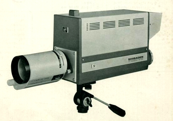 hitachi shiba shibaden fp-100 professinal vintage closed circuit televison camera 1975