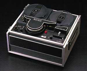 sony cv-2000, first home video tape recorder 1965