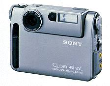 sony cybershot dsc f2, dsc f3 digital camera 1997