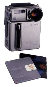 sony cybershot dsc-md1 minidisc md digital camera 1997