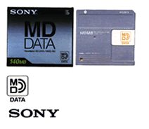 sony data minidisc md data disc 1993