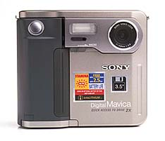 sony mavica mvc-fd51 vintage floppy disk digital camera 1998