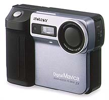 sony mavica mvc-fd81 floppy disk vintage digital camera 1998