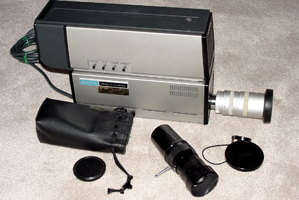 sony avc-3250 video camera 1974