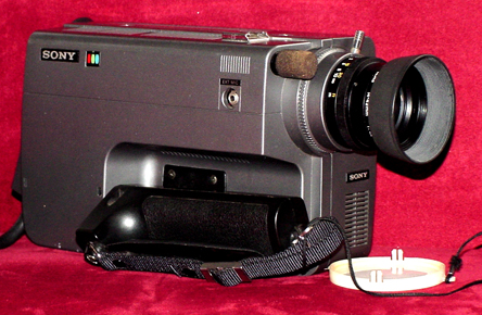 sony hvc-1000 vintage beta video camera 1979