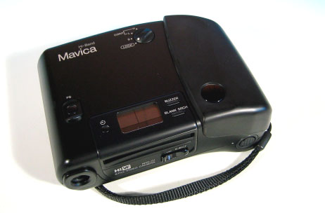 sony mavica mvc-a10 hi-band still video camera 1988
