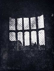 first print from a negative,  william henry  fox talbot 1835
