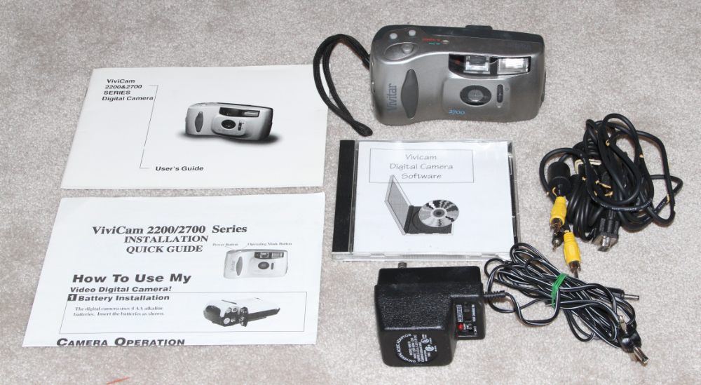 Vivitgar Vivicam 2700 digital camera kit