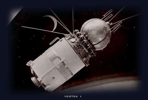 vostok 1 spacecraft, yuri gagarin first man to orbit the earth 1961