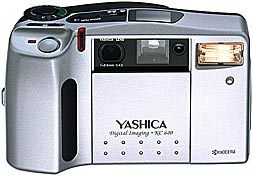 yashica kc 600, kyocera dr-350 digital camera 1997