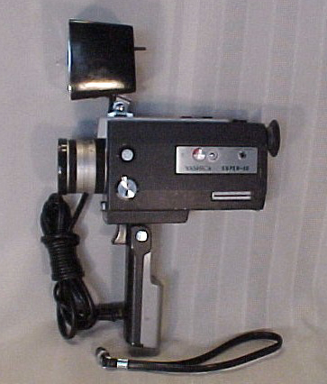 yashica super40 vintage super 8 mm movie camera 1968