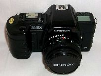 chinon cp9-af slr film camera 1988