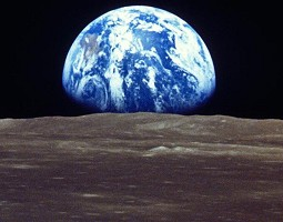 first photograph of earth from the moon earthrise 1969