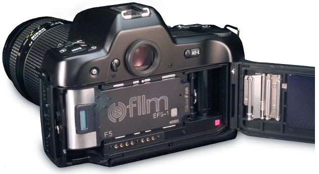 silicon films imagek efs-1 prototype digital camera back 1998