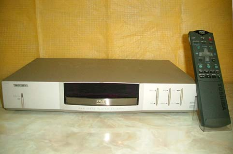 rtoshiba  sd-3000 dvd player 1996